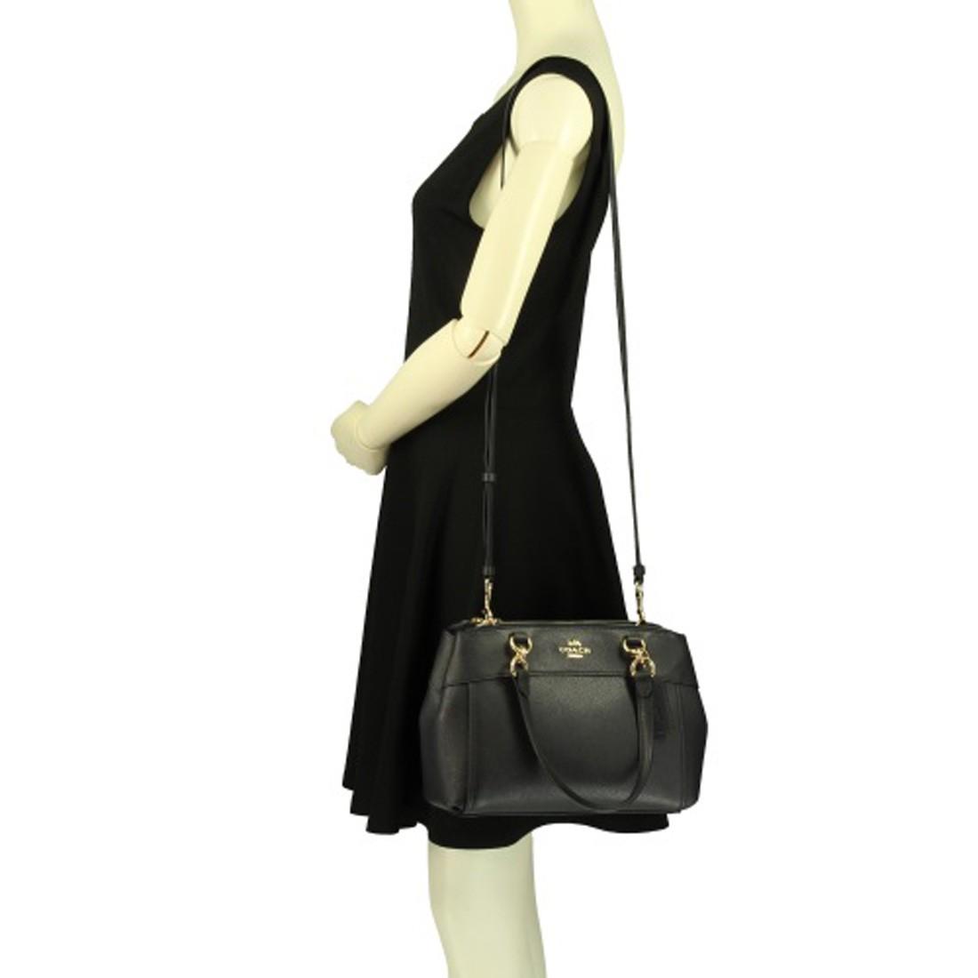8adab28d21 ... satchel handbag crossbody signature khaki gabys bags d75c7 66b4c   official nwt coach mini brooke carryall crossbody tote leather bd675 f32cc